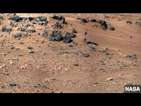 NASA'S CURIOSITY ROVER FOUND WATER IN MARTIAN SOIL. After analyzing a scoop of Martian dirt, the rover found that water makes up two percent of the planet's surface layer.