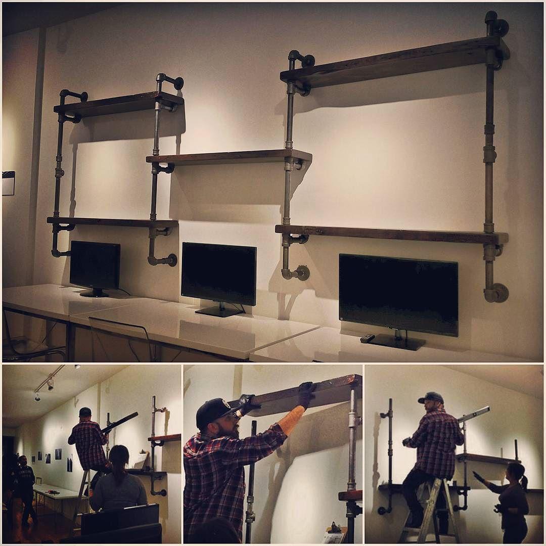 Pin on pipe furniture