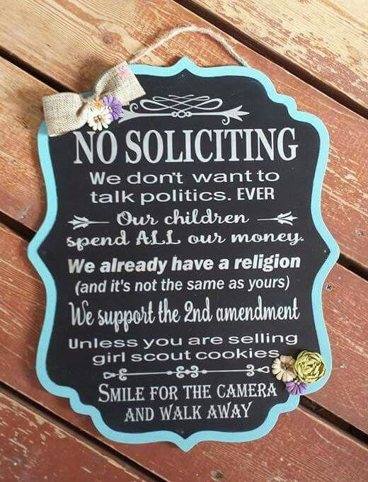 No Soliciting Sign No Soliciting Signs Porch Signs
