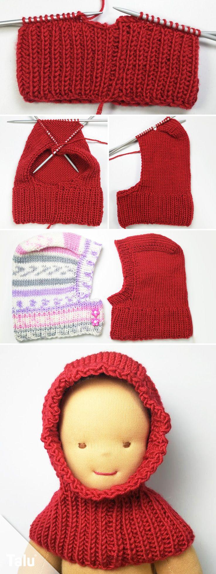 Schalmütze stricken für Babys - kostenlose Anleitung für Anfänger ...