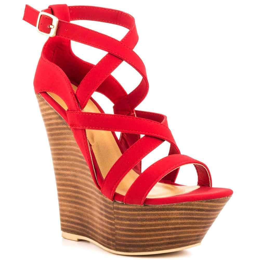 Rojos Colección Milagroso 54 De Red Verano 99 Netanya Zapatos Zapatos De Sandalias JustFab qBBWp60P