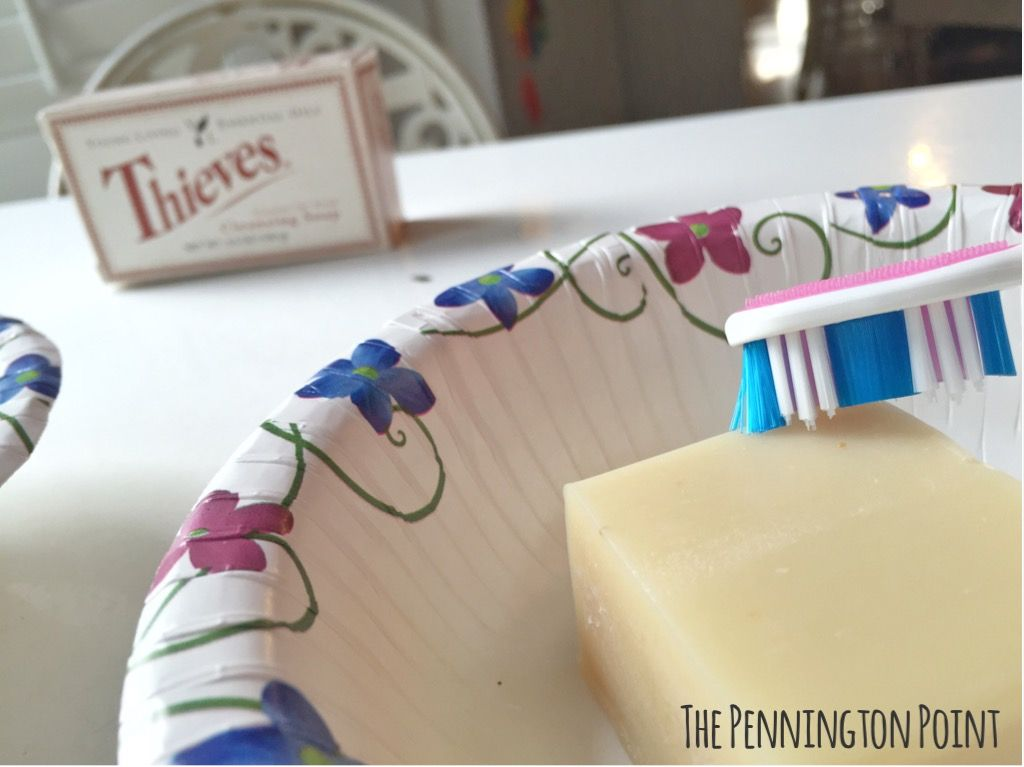 a great way to use essential oils to clean your Invisalign