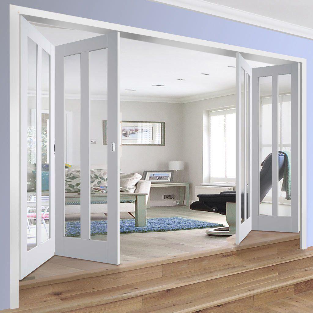 Folding Doors Internal Bi Fold Glazed Shop Now 1000 In 2020 Glass Doors Interior Room Divider Doors Folding Doors Interior