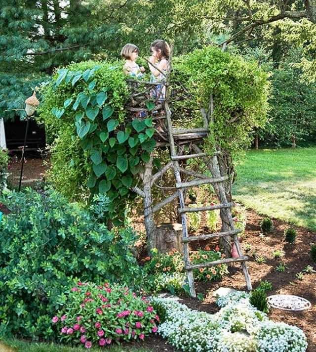 haus gestalten originell freude bereiten zwei kinder | garten, Garten Ideen