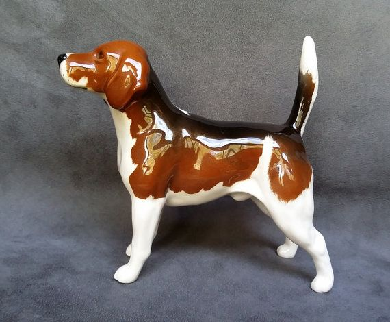Large Beswick Wendover Billy Beagle By Magicvintagestuff On Etsy