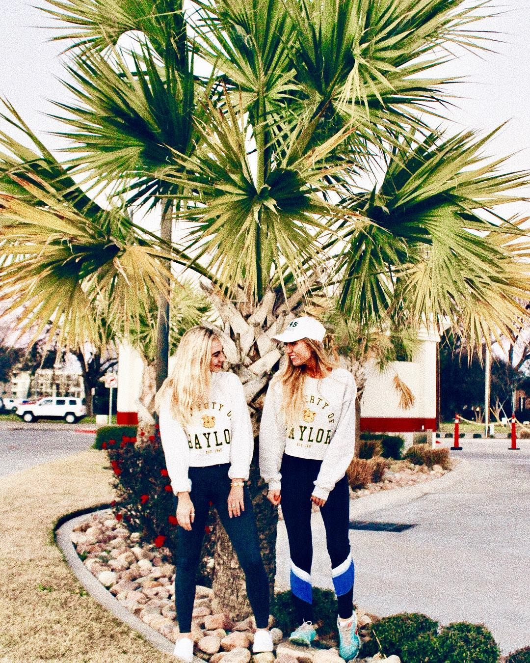 063a4b9837 Property of Baylor Cropped Sweatshirt