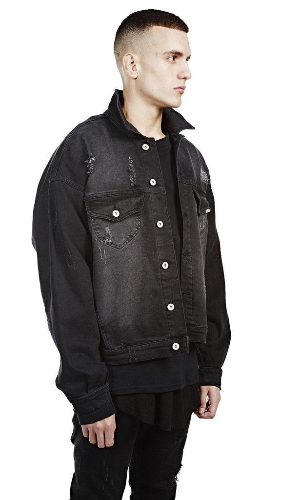 Denim Jacket Black Black Denim Jacket Jackets Designer Jackets For Men
