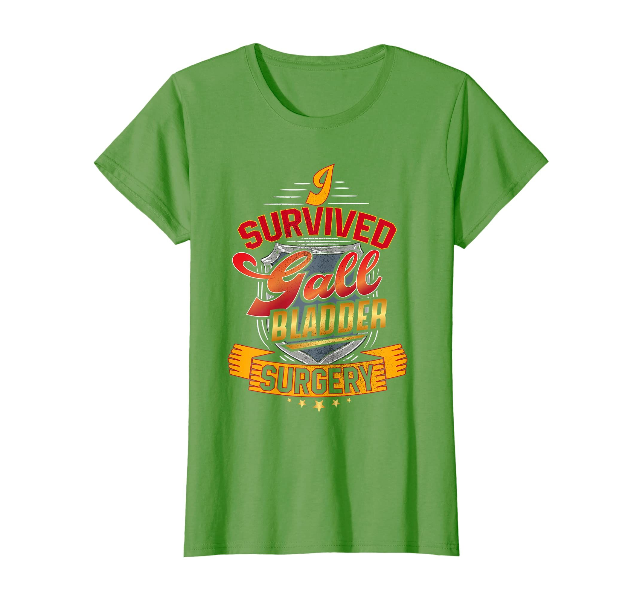 Get Well I Survived Gall Bladder Surgery T-Shirt-Teehay