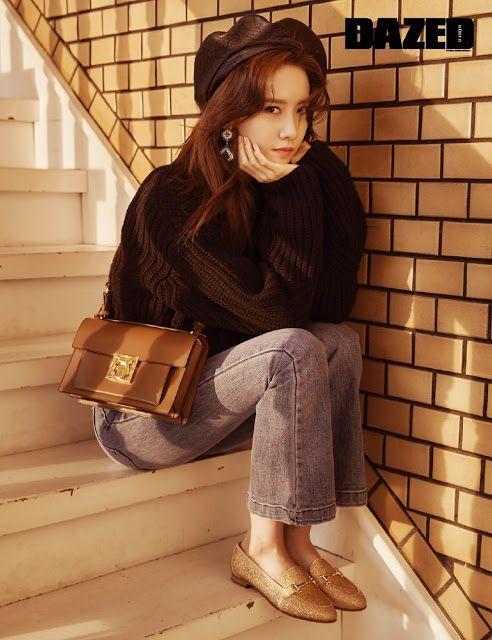 SNSD's YoonA for DAZED Korea