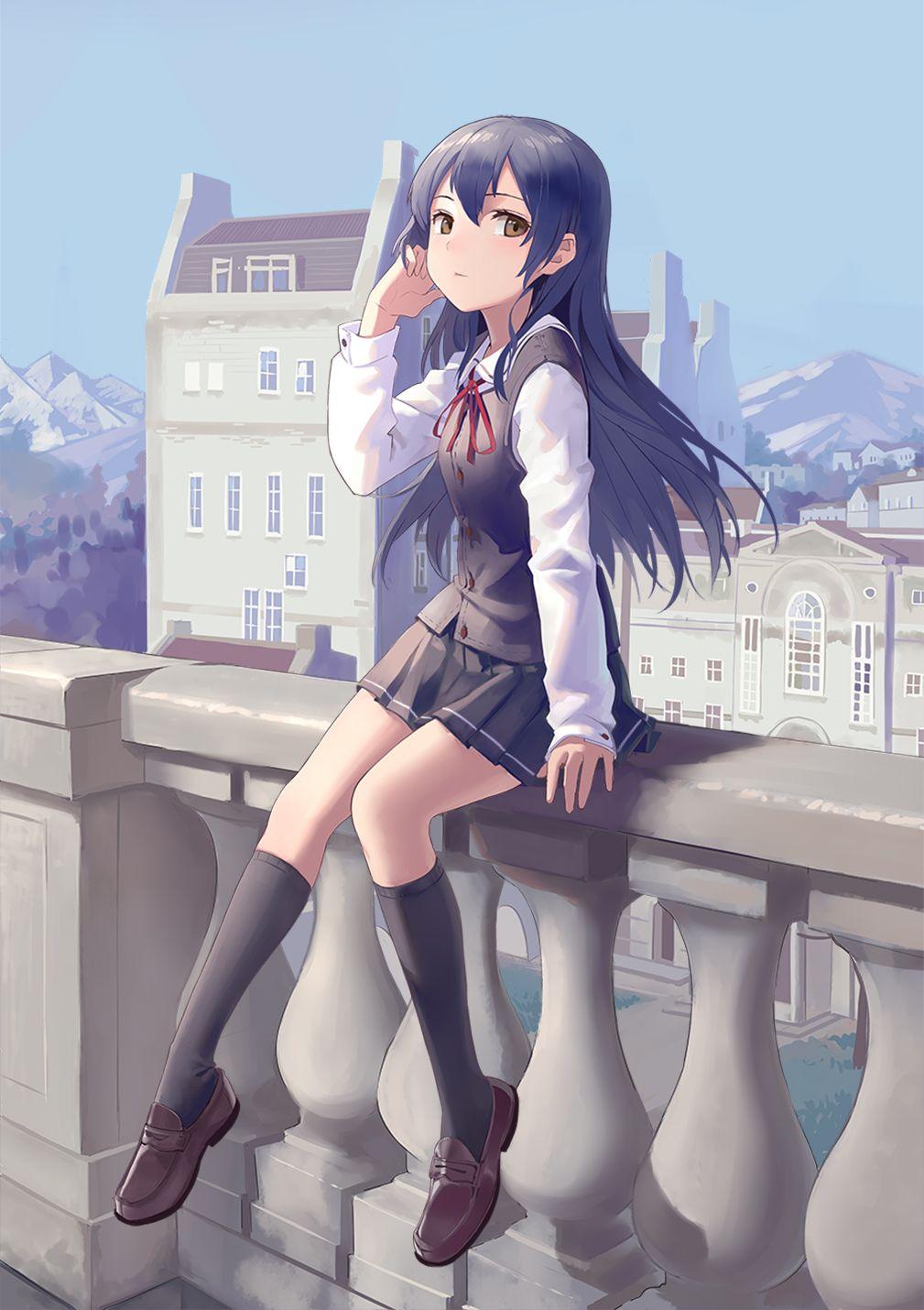 Sonoda Umi アニメ女子高生 アニメの女の子 ラブライブ