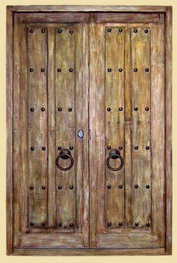 Fancy Entry Doors | Front Entry Door From La Puerta Originals. Goth, Needs  A Heavy Door Nocker