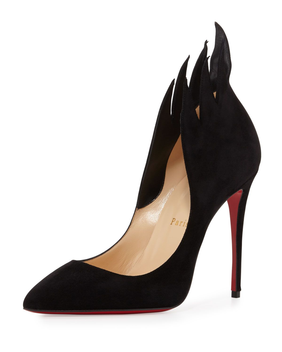 3571defa879d Christian Louboutin Victorina Flame 100mm Red Sole Pump