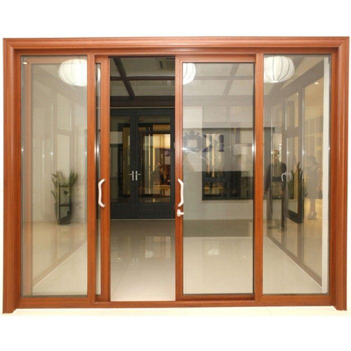 Cửa nhôm Việt pháp màu vân gỗ có bền không | Cửa kính, Cửa sổ, Kính