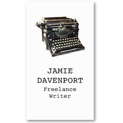 Old Typewriter Writer Journalist Author Business Business