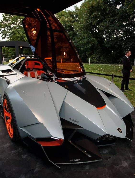 Lamborghini Egoista Speed Racer Is This Not The Mach 5 From Speed Racer!