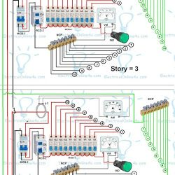 3 Different Method Of Staircase Wiring With Diagram And Complete Staircase Circuit Guide Electrical Wiring Staircase Lamp Light