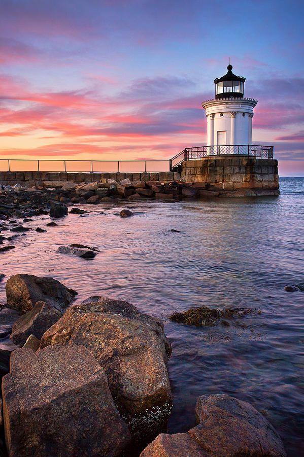 Bug Light Park by Benjamin Williamson | Maine lighthouses, Beautiful lighthouse, Lighthouse