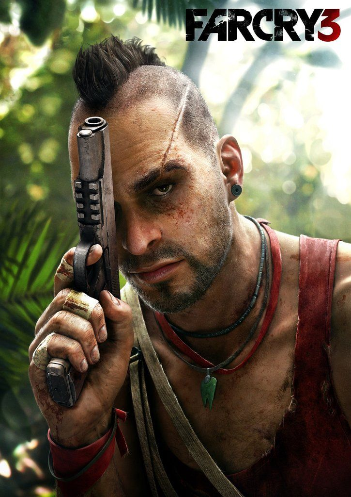 Far cry 3 poster far cry 3 video game characters video