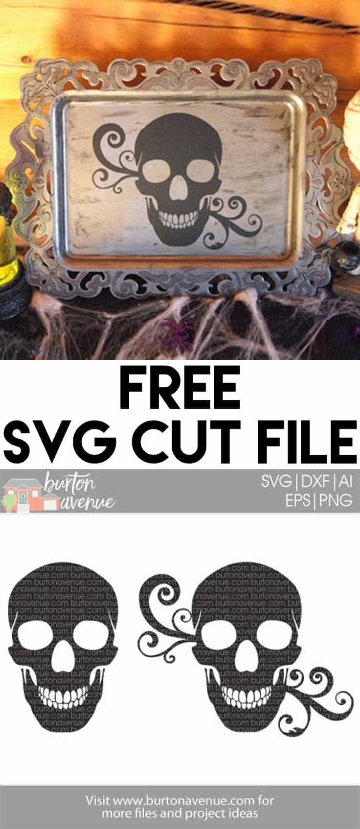 Free SVG files for Cricut & Silhouette   Halloween SVG Files