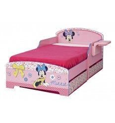 lit minnie avec tiroirs et rangement - Lit Minnie