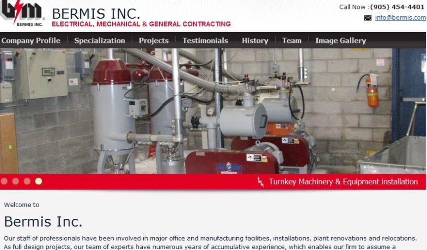Electrical Contractors in Canada. Bermis INC offering ...