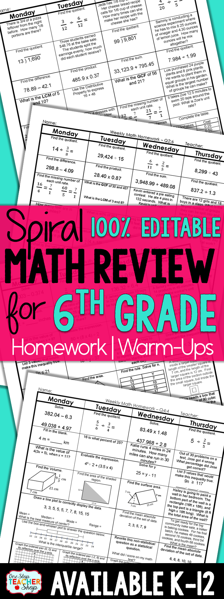 medium resolution of Help With 6th Grade Math Homework —
