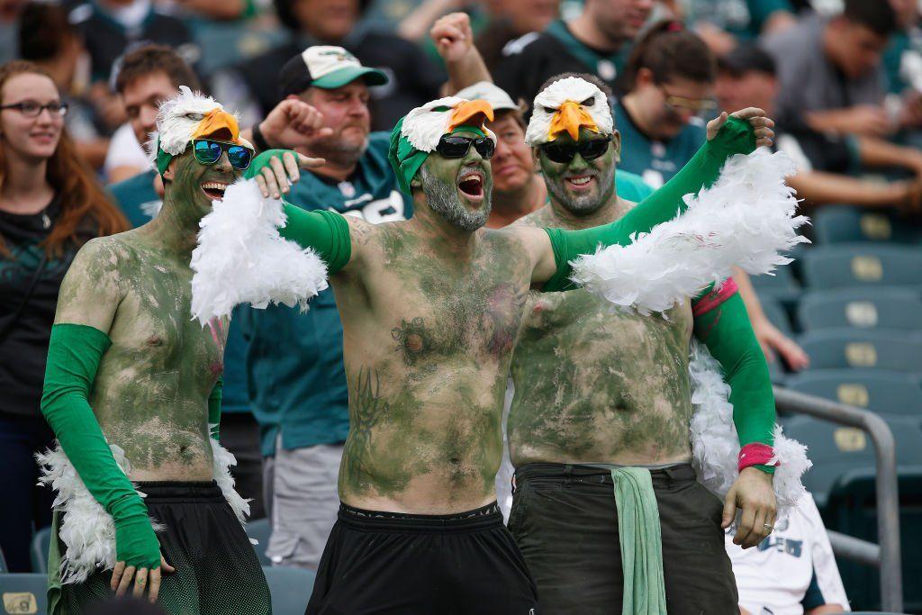 Philadelphia Eagles fans Eagles fans, Nfl fans