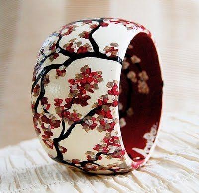 Cherry Blossom Bangle