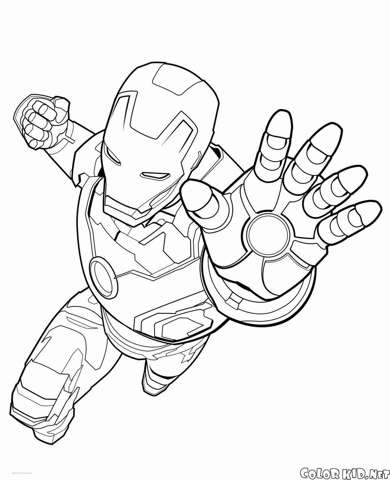 Iron Man Ausmalbilder