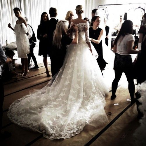 Behind The Scenes: Marchesa Spring 2014 Show