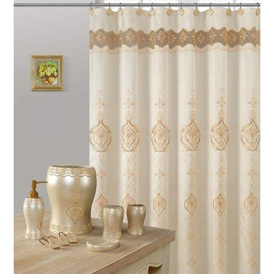Astoria Grand Monaco Single Shower Curtain In 2020 Curtains