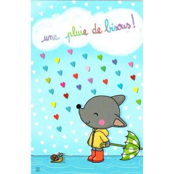 Cartes Postales Enfants Couleur Papier