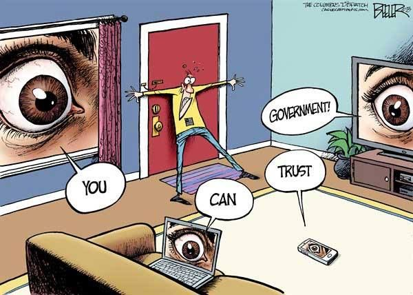 Privacy Surveillance You Can Trust Your Government Political