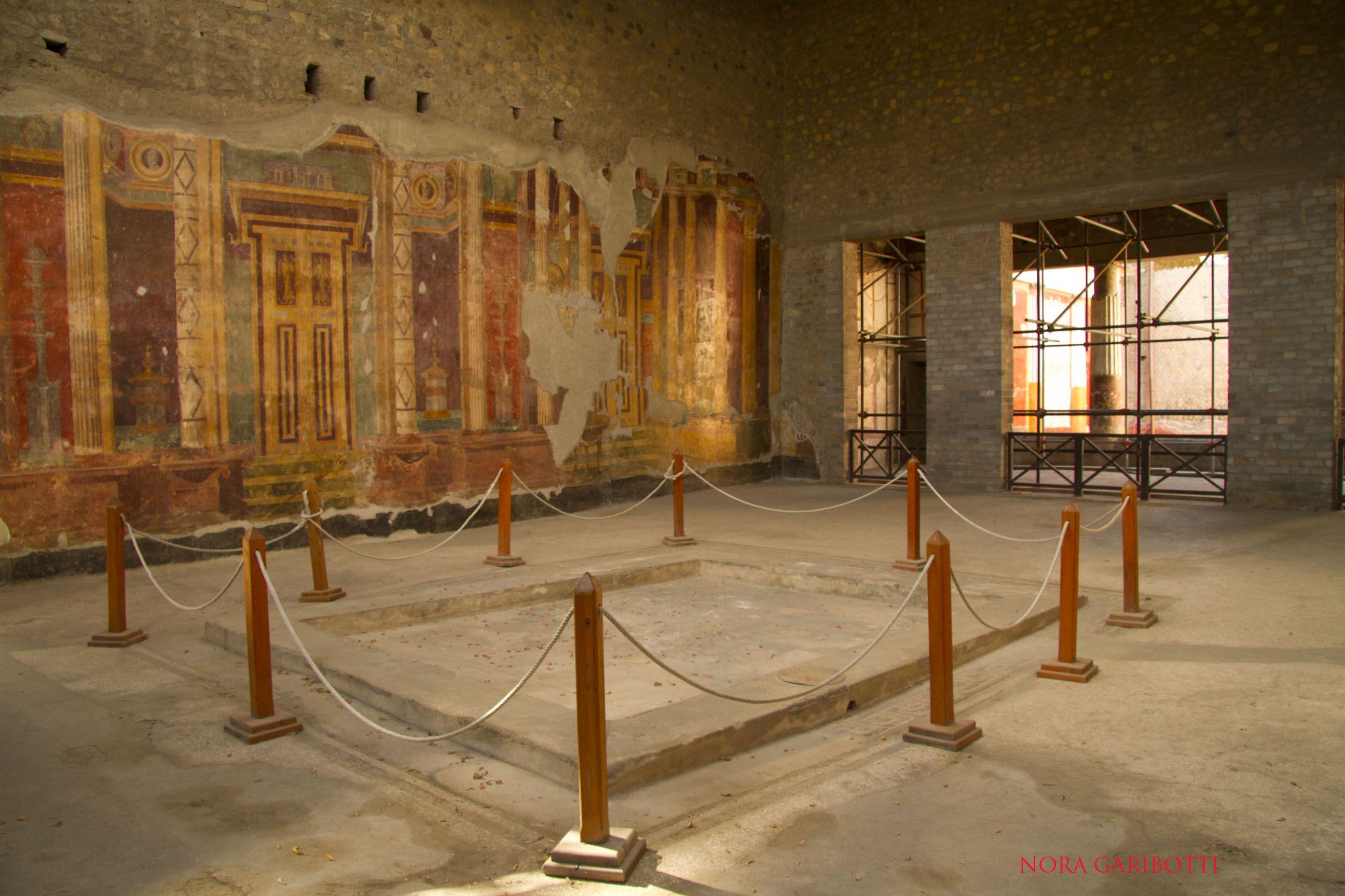 Villa of the Poppaea  This Roman villa belonging to the