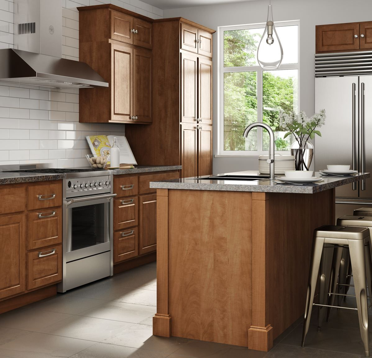 Home Depot Design Ideas: Create & Customize Your Kitchen Madison Base Cabinets In