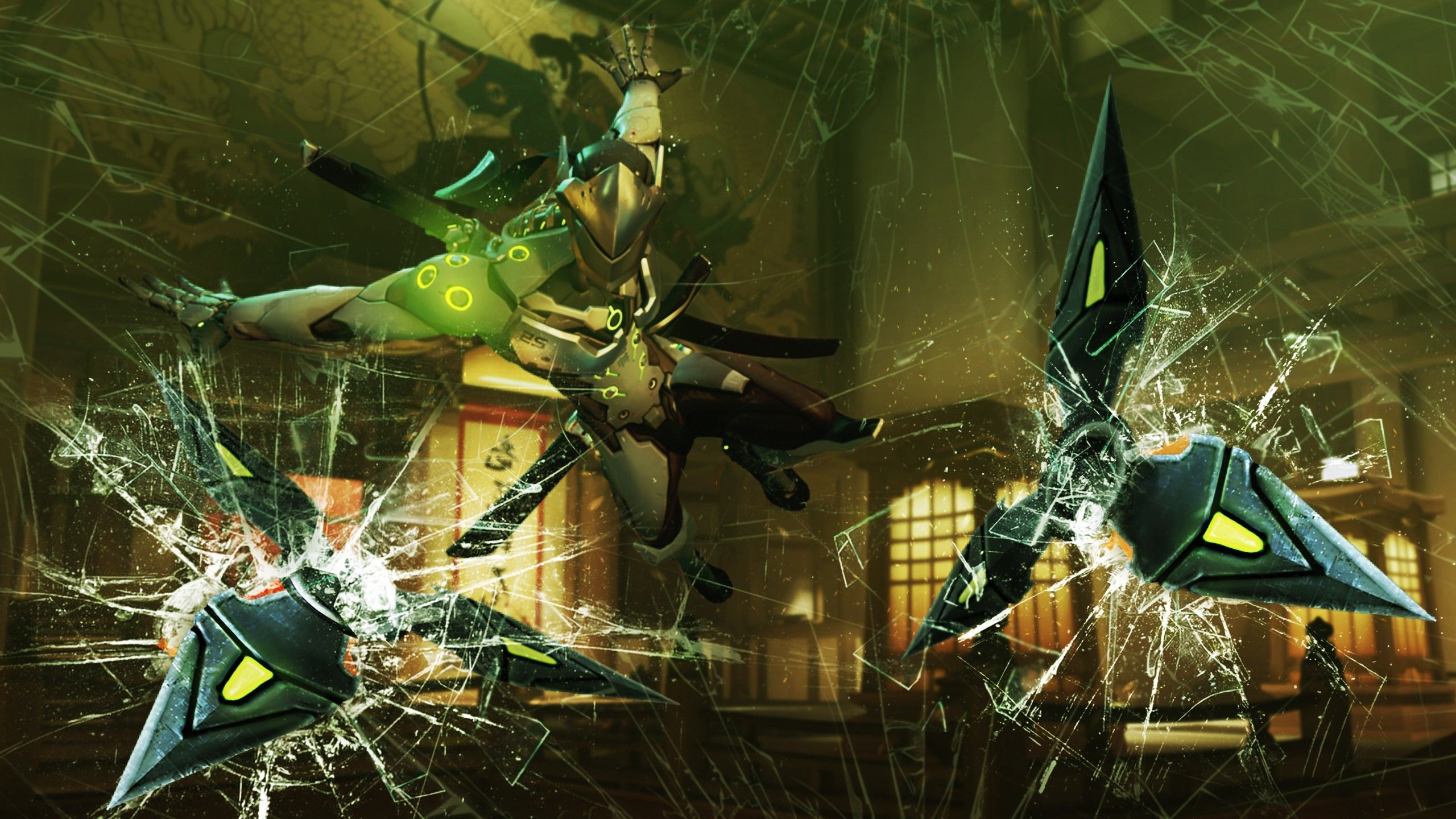 Overwatch Genji Wallpapers Desktop Is Cool Wallpapers Tapety