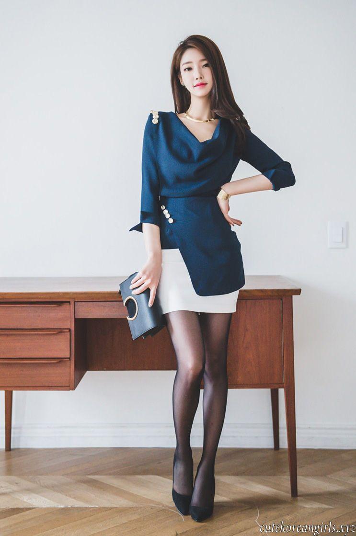 korean stockings Image result for jung yun black stockings