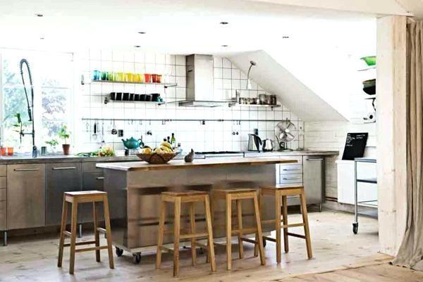 kücheninsel auf rollen kreativ von kücheninsel mit rädern