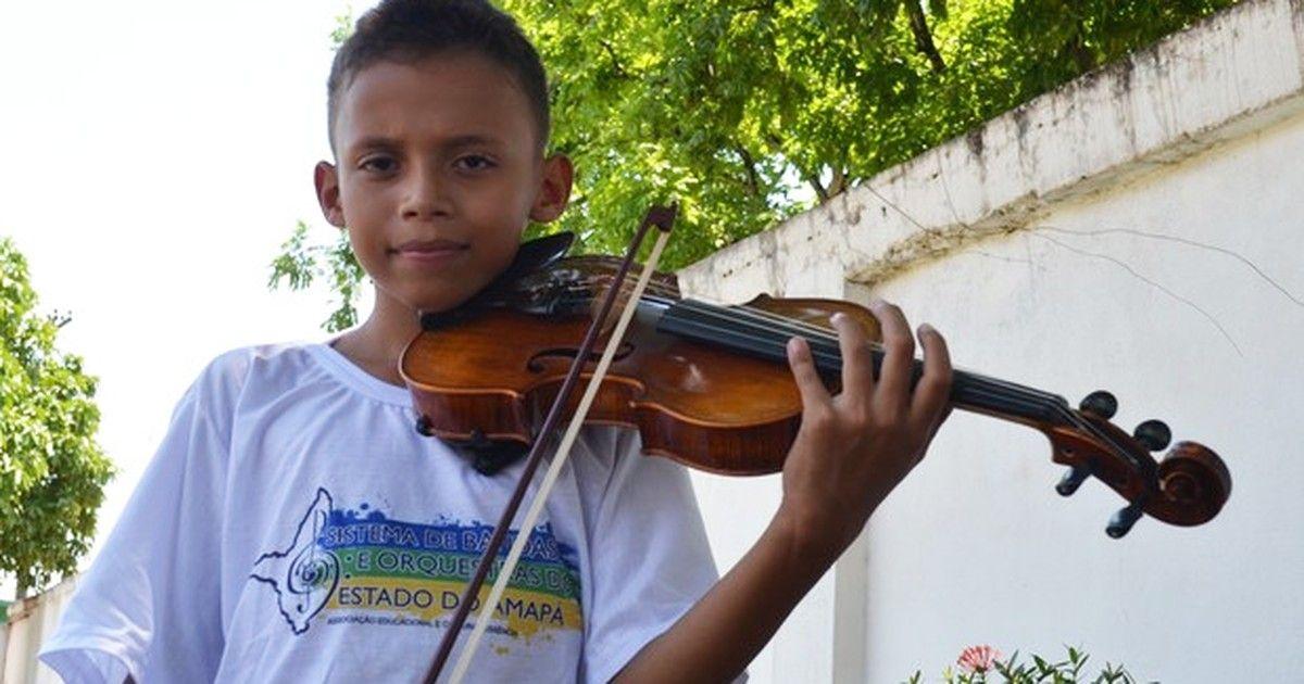 Maestro faz campanha na web para ajudar violinista a viajar para Guiana