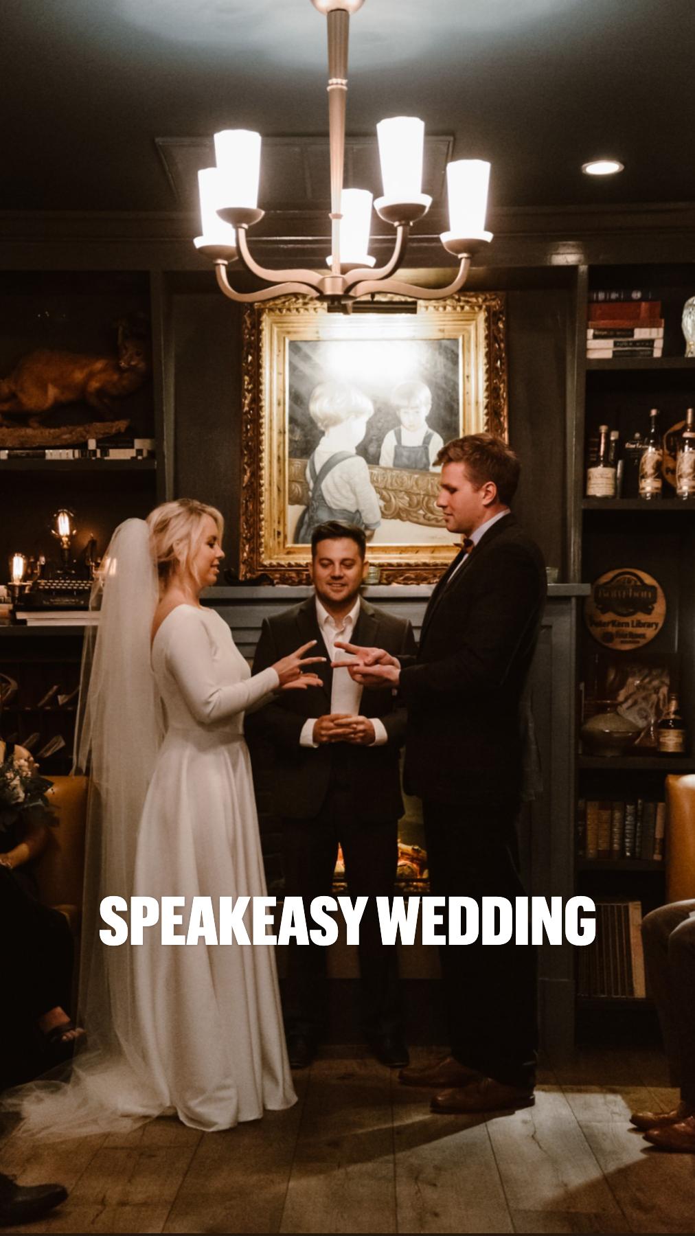 Speakeasy Wedding
