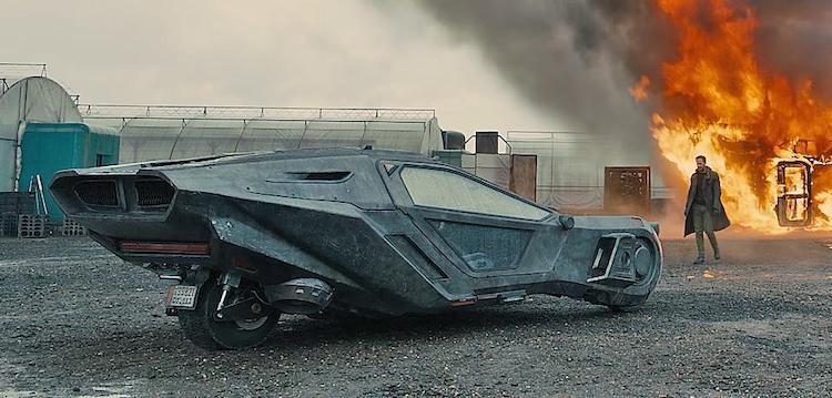 Musk Tesla Pickup Wordt Blade Runner Achtige Machine Blade Runner Car Blade Runner Spinner Blade Runner