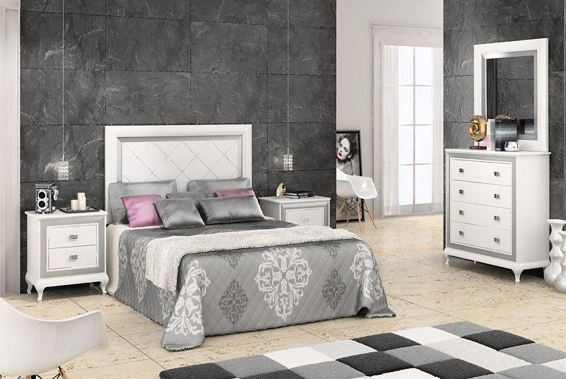 Dormitorios matrimonial blanco dormitorios bedrooms - Muebles para dormitorios matrimoniales ...
