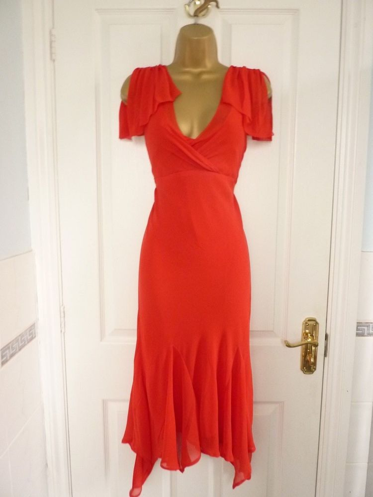 c70470e41fdcd LADIES SIZE 2 UK 10 TED BAKER RED SILK EVENING PARTY OCCASION DRESS   fashion  clothing  shoes  accessories  womensclothing  dresses (ebay link)