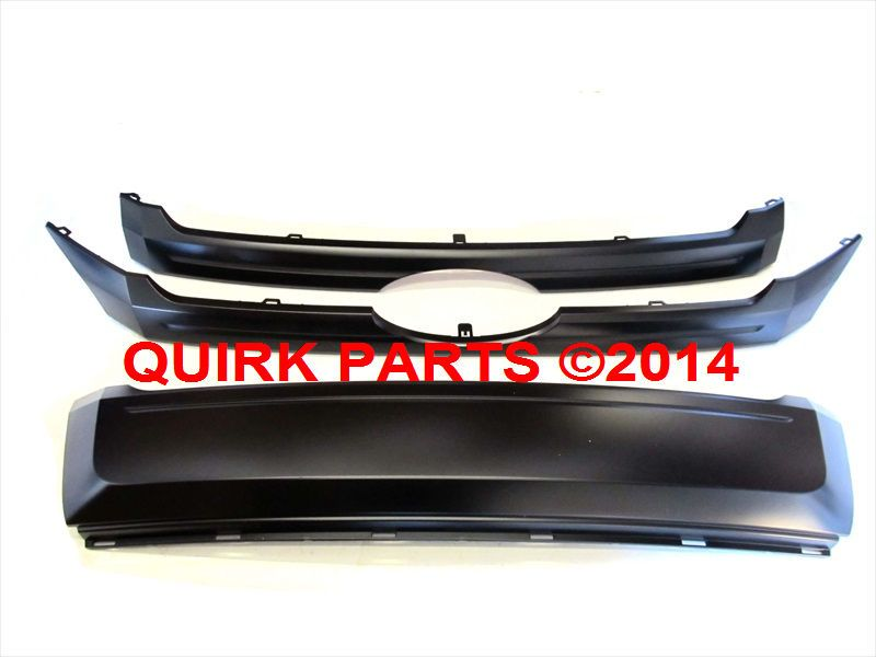Ford Edge Front Radiator Primed Paint To Match Grille Inserts Oem New Ford