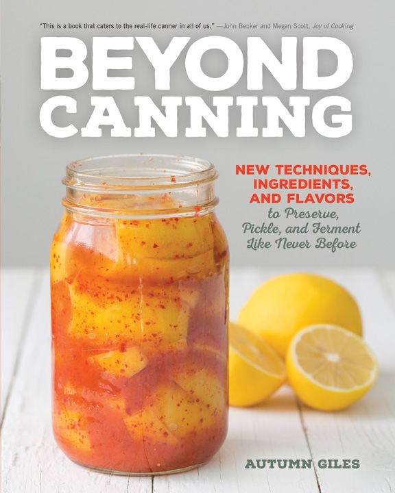 Beyond Canning {by Autumn Giles} - a guide to preserve, pickle and ferment