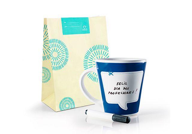 Lançamento Caneca Mensagem com Caneta Crer Para Ver + Embalagem por: R$ 26,80