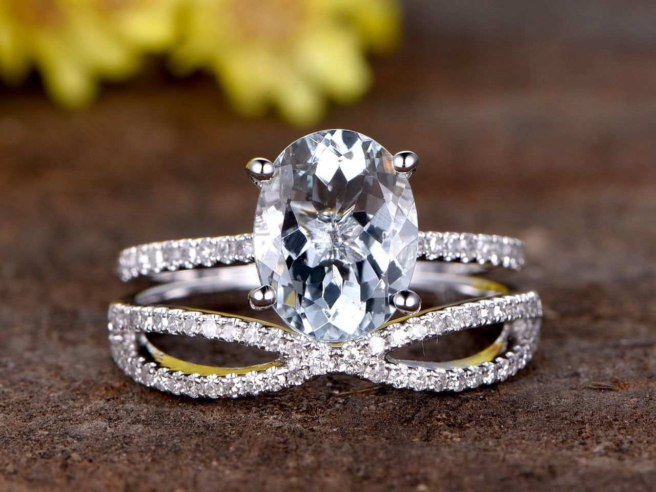 Pin On Aquamarine Engagement Ring