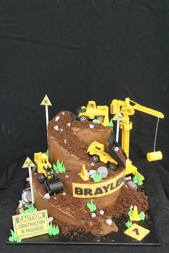 Under Construction cake Birthday Pinterest Construction Cake