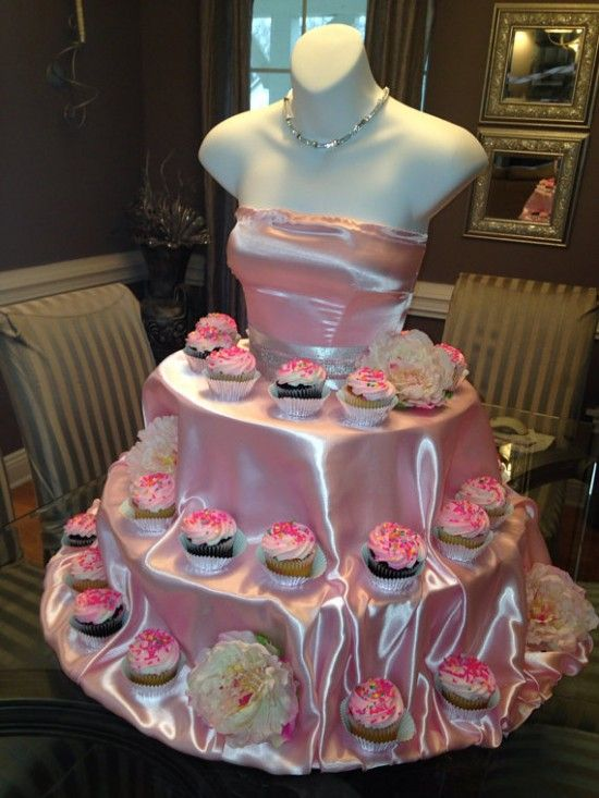 Mannequin Cupcake Stand Cupcake Stands Cake And Sweet 16