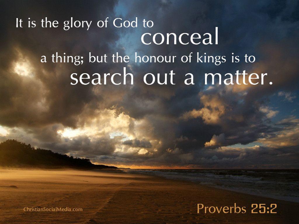 Image result for Proverbs 25:2 kjv
